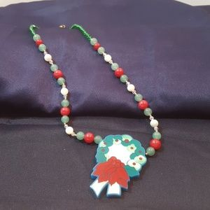 Lee Sands  Holiday necklace